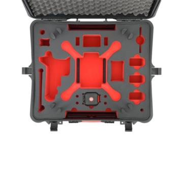 HPRC2700 FOR DJI PHANTOM 2/2 VISION/2 VISION+ - BLACK/RED FOAM